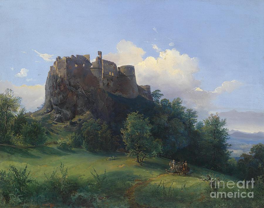Castle Painting - Castle  by Celestial Images