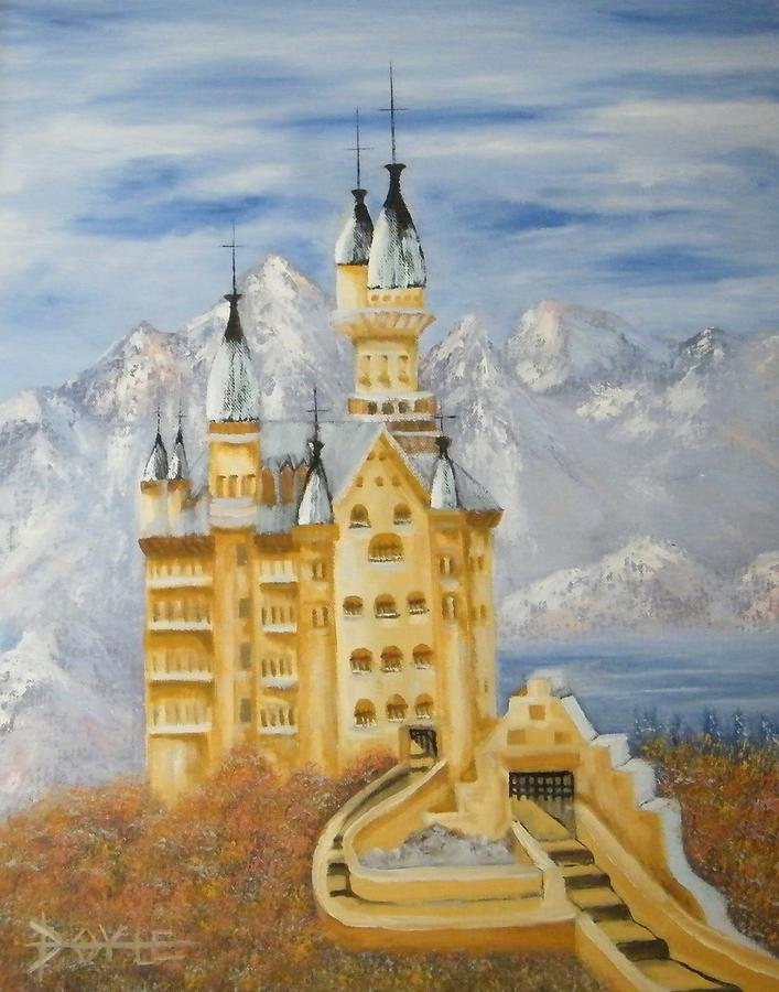 Castle Painting by Larry Doyle
