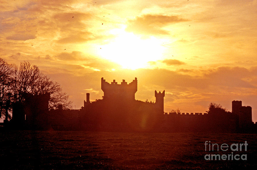 County Down Photograph - Castle Northern Ireland by Thomas R Fletcher