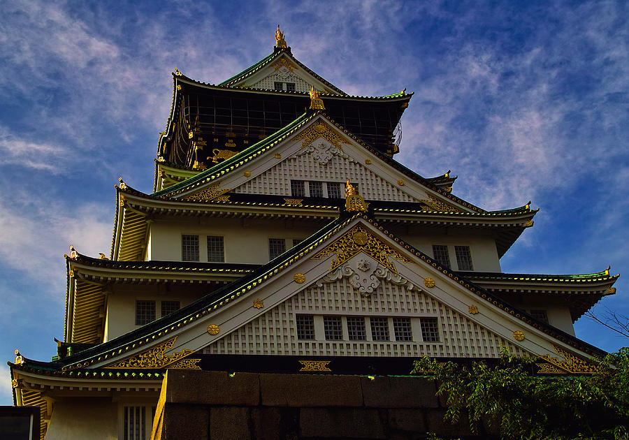 Osaka Castle Photograph - Castle of Eternal Splendour by Baato