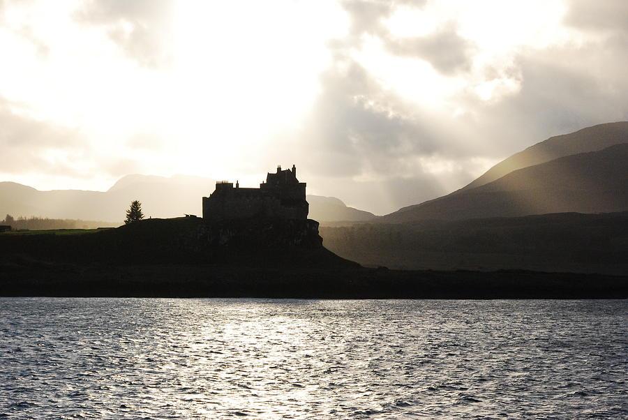 Scotland Photograph - Castle On Scotlands Inner Hebridean Islands by Kelsey Horne