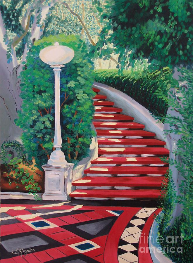 Castle Patio 2 Painting