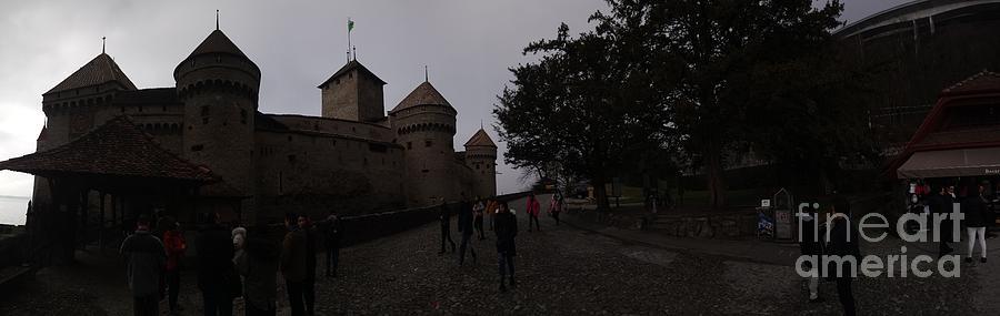 Castle Mixed Media