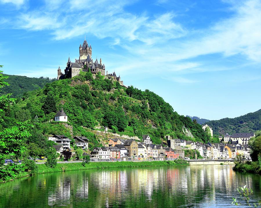 Cochem Photograph - Castle Reichsburg by Don and Bonnie Fink