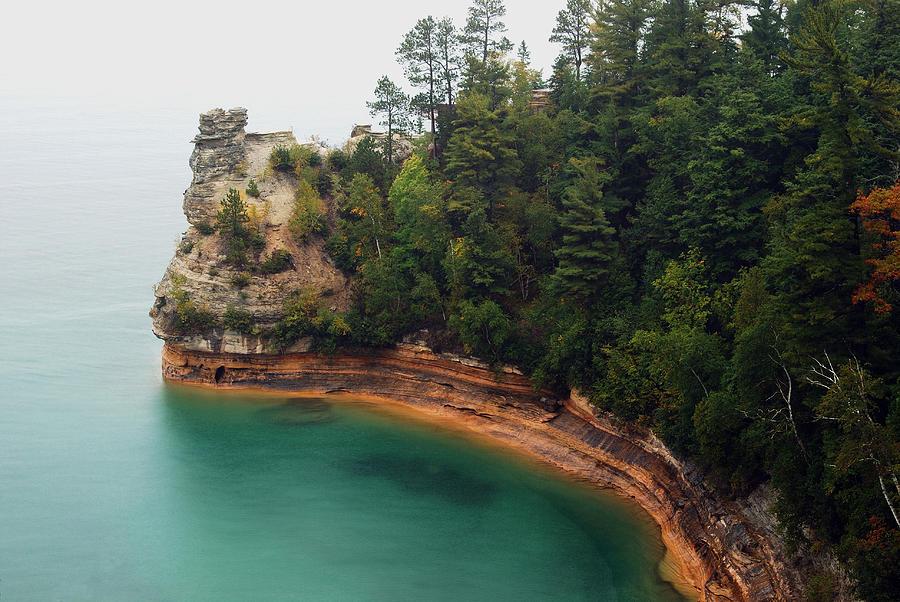 Landscape Photograph - Castle Rock by Michael Peychich