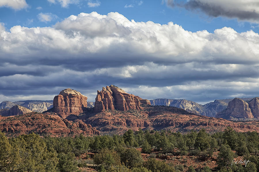 Arizona Photograph - Castle Rock by Phill Doherty