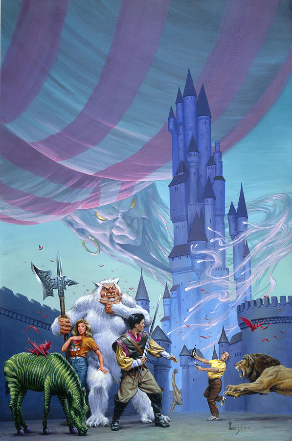 Fantasy Painting - Castle Spellbound by Richard Hescox