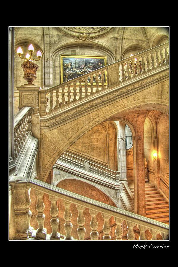 Castle Stairs by Mark Currier