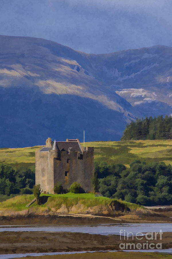 Castle Stalker Argyll, Scotland Photograph