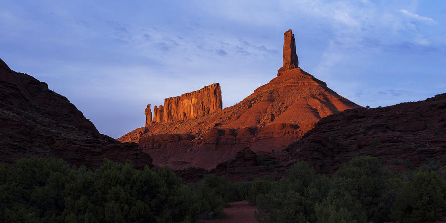 Castle Valley Photograph - Castle Towers by Chad Dutson