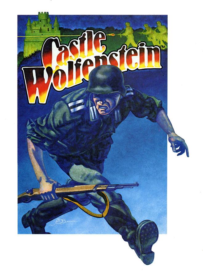 Castle Wolfenstein Painting - Castle Wolfenstein by John D Benson
