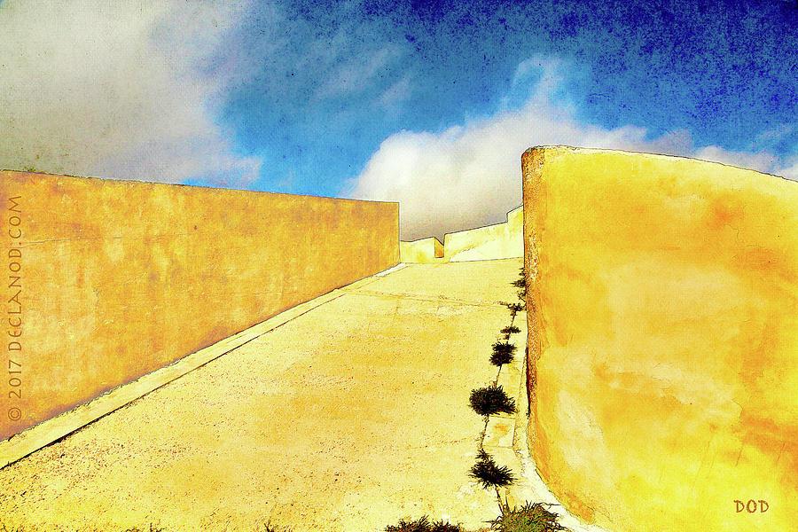 Spain Digital Art - Castles In Spain by Declan ODoherty