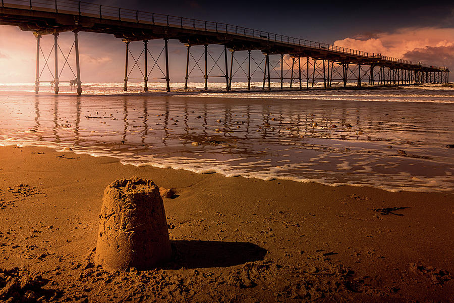 Yorkshire Photograph - Castles In The Sand by Richard Sayer