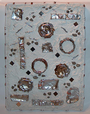 Mosaic Wall Hanging Mixed Media - Castways Reclaimed by Wendy Nelson