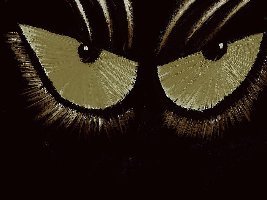 Cat Eyes 2 by James Adger