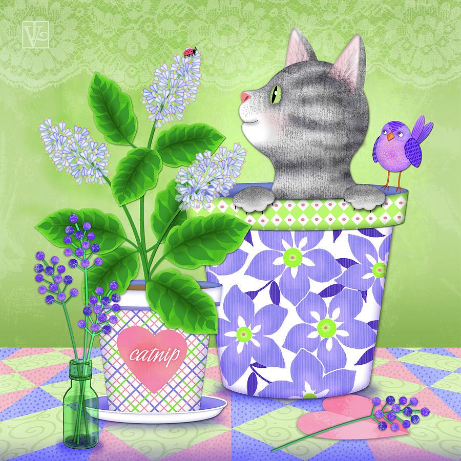 Cat Love by Valerie Drake Lesiak