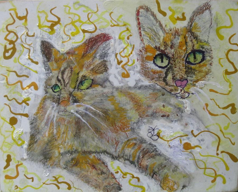 Cat Named Phoenicia by AJ Brown