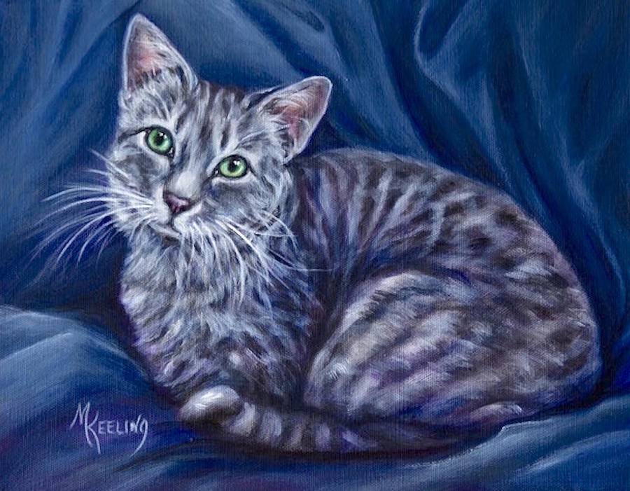 Cat2 by Meg Keeling