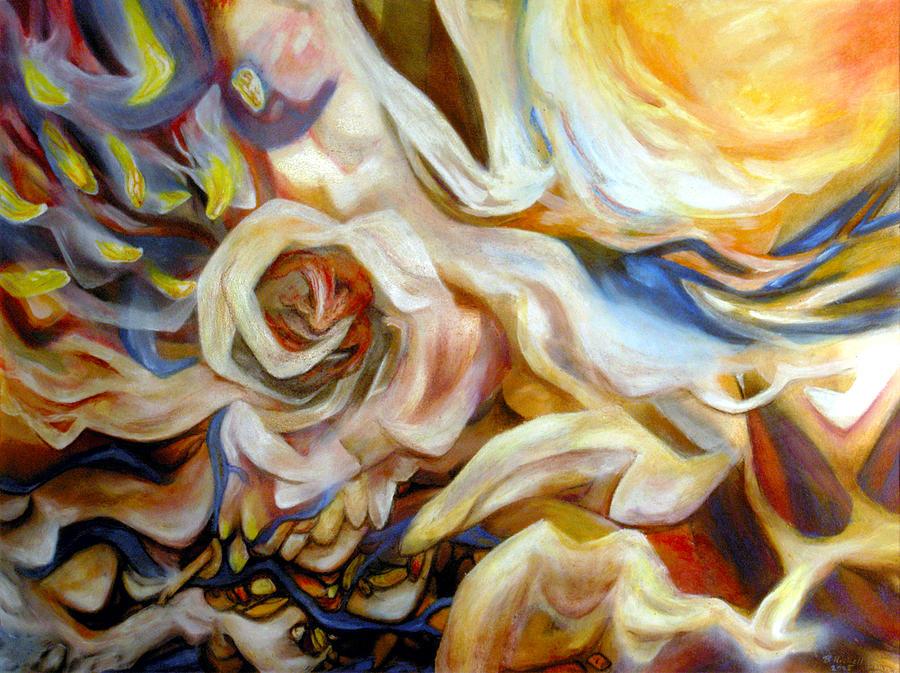 Surrealism Mixed Media - Cataclysm by Brett Nickell