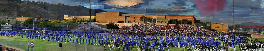 Catalina Foothills Photograph - Catalina Foothills High School Graduation 2016 by Stephen Farley
