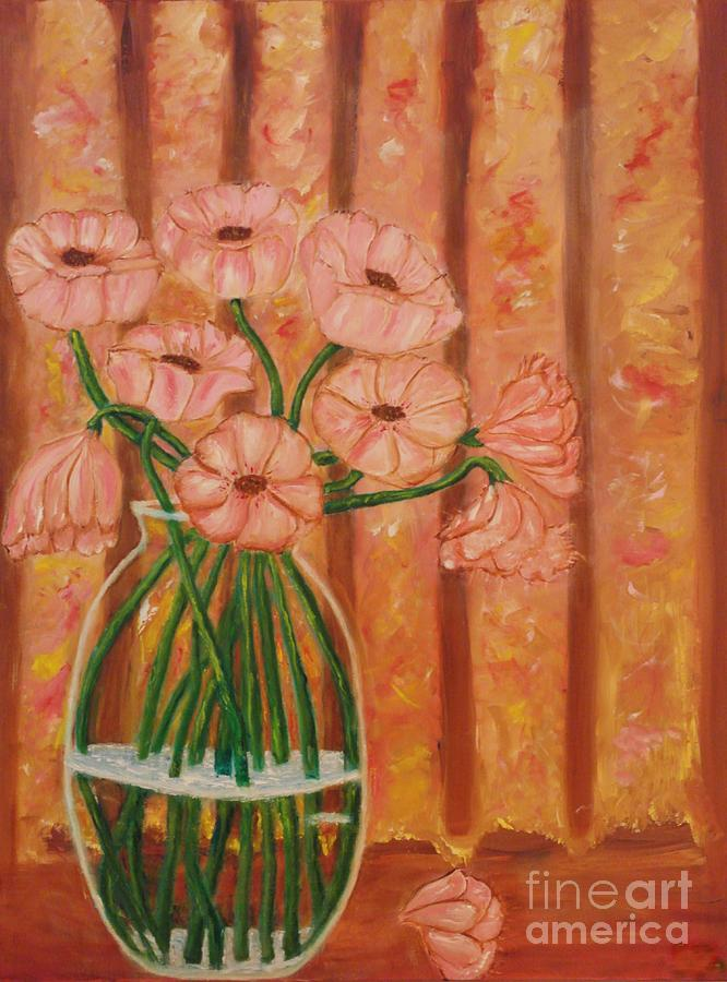 Abstract Artist Painting - Catalinas Bouquet by Catalina Walker