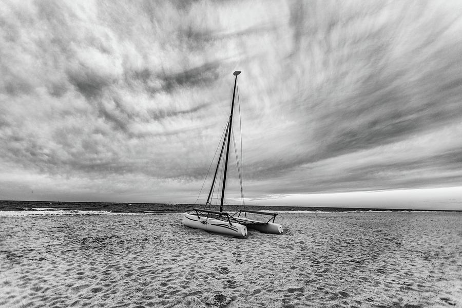 Catamaran In Orange Beach Al Photograph