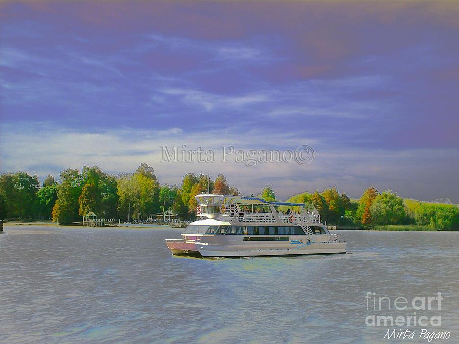 Catamaran Photograph by Mirta Pagano