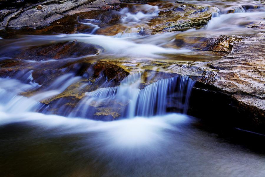 Cataract Falls Photograph - Cataract Falls by Chad Dutson