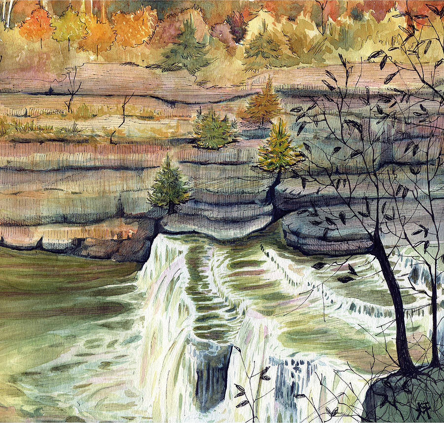 Cataract Falls by Katherine Miller