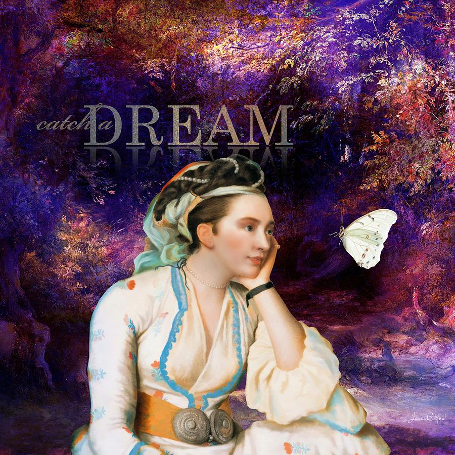 Women Painting - Catch a Dream by Laura Botsford