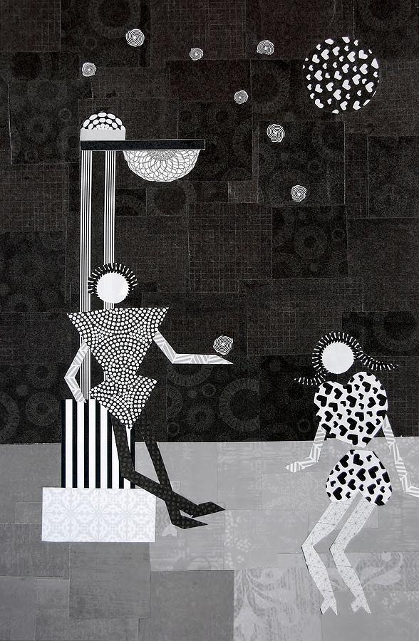 Stars Mixed Media - Catch A Falling Star by Charla Van Vlack