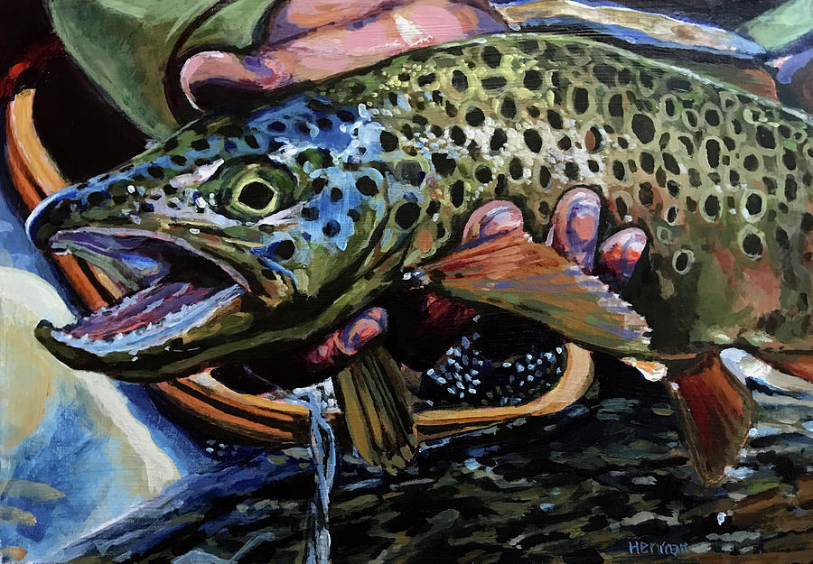 Catch of the Day by Les Herman