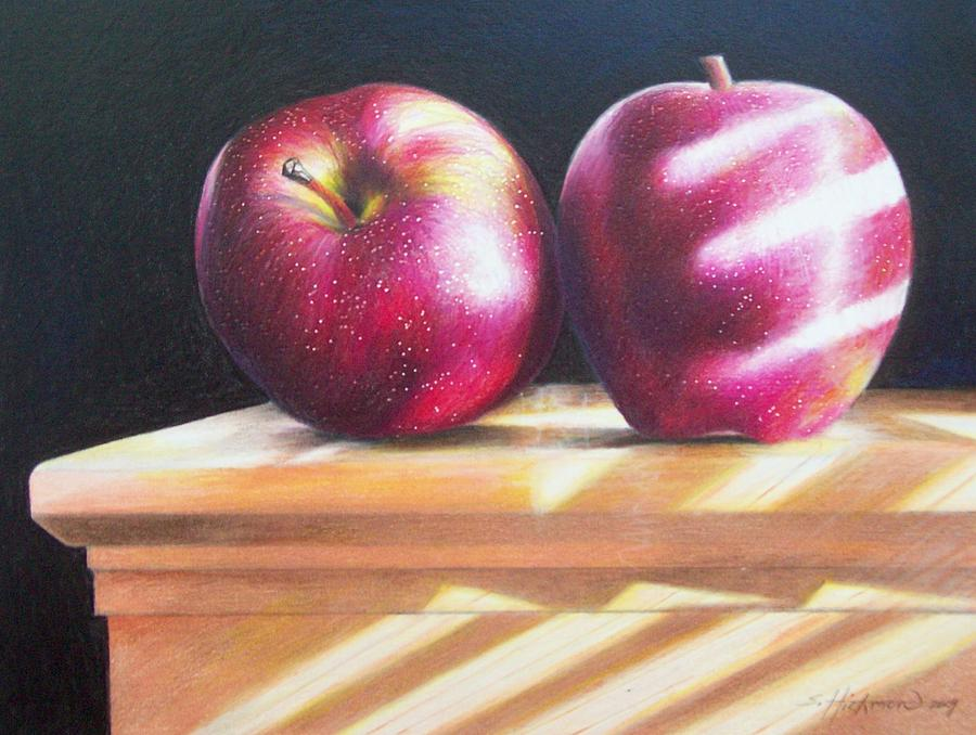 Still Life Drawing - Catching Some Rays by Sylvester Hickmon