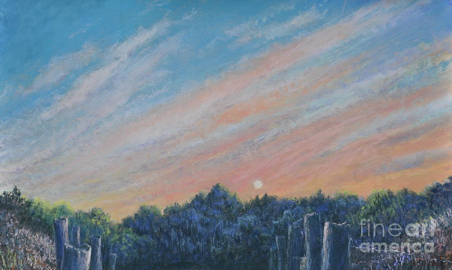 Giclee Painting - Catching The Sunset by Penny Neimiller