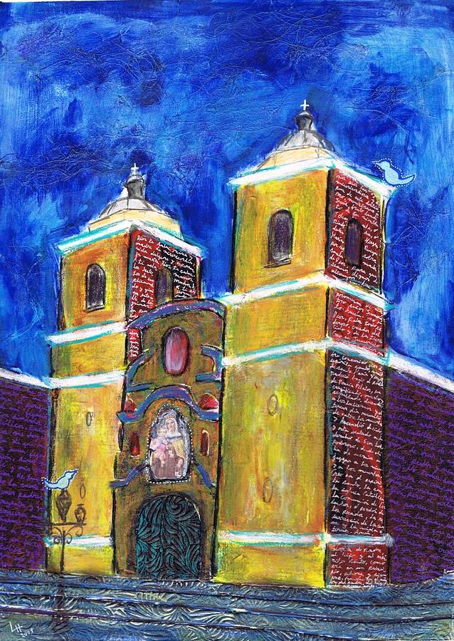 Catedral Painting by Lucia Henry