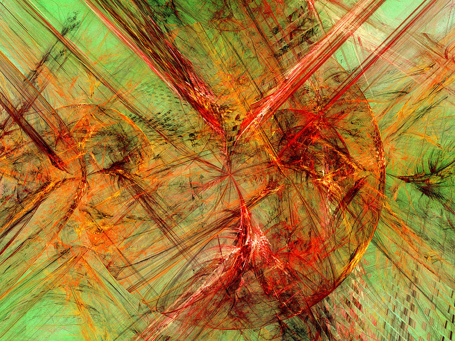 Abstract Digital Art - Category Theory by Jeff Iverson