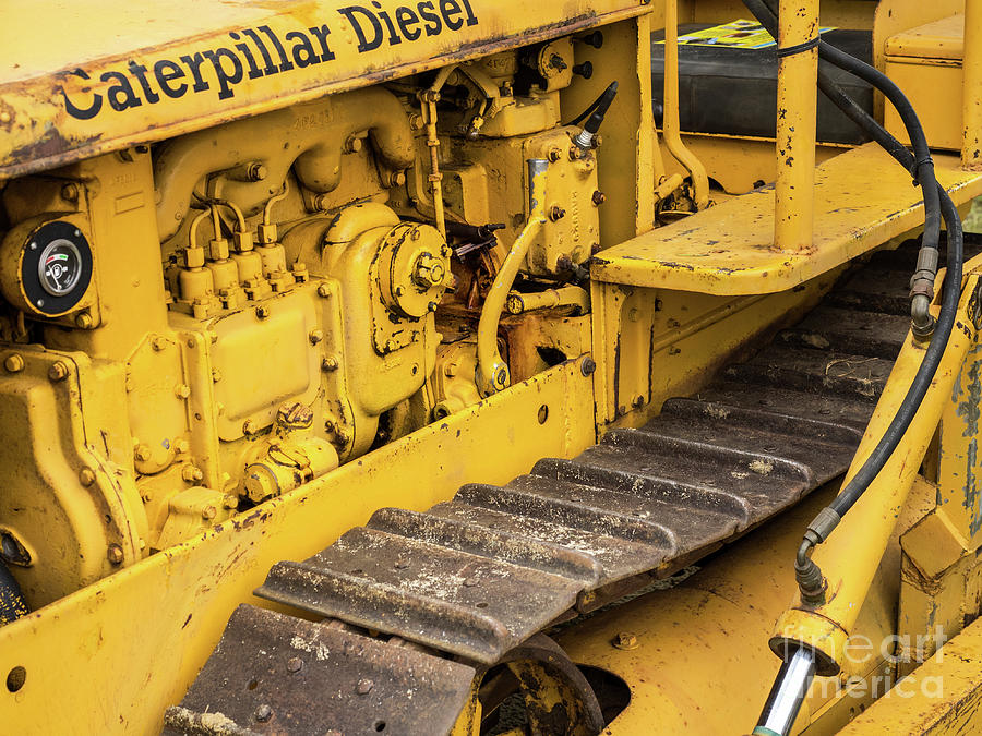 Caterpillar D2 Bulldozer 03 by Rick Piper Photography