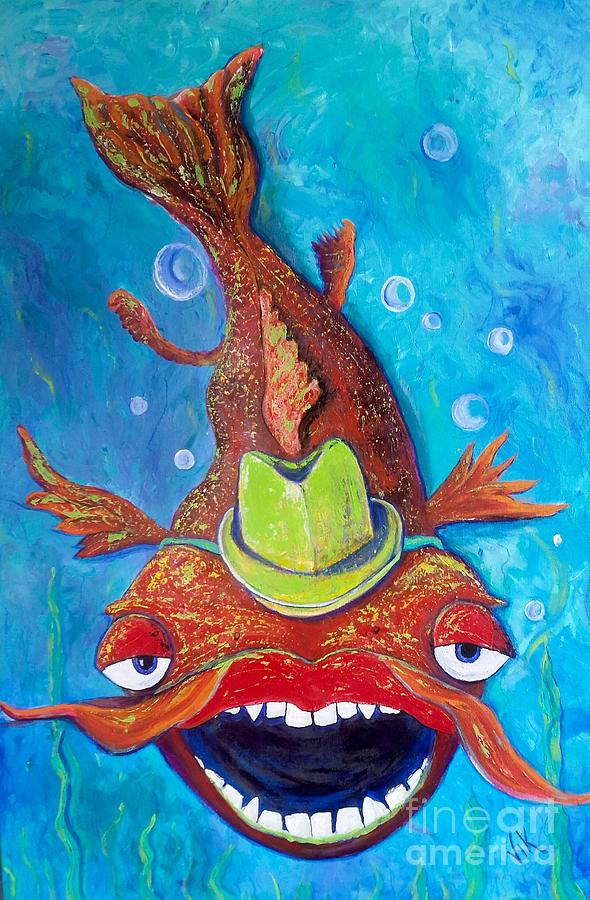 Catfish Clyde by Vickie Scarlett-Fisher