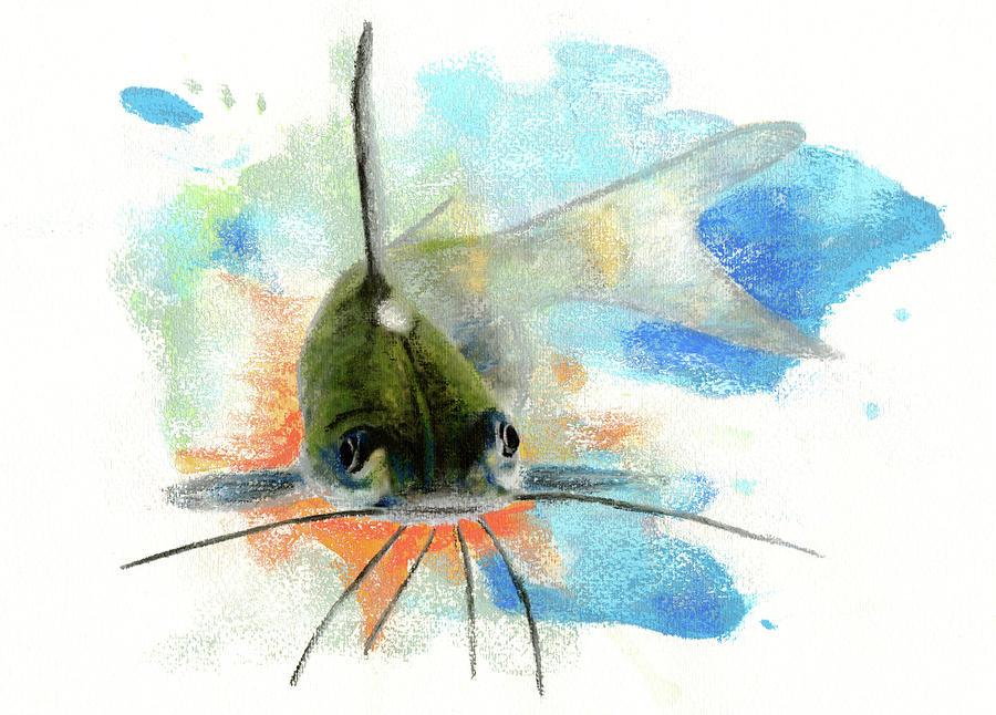 Catfish Pastel - Catfish by Janice Lawrence