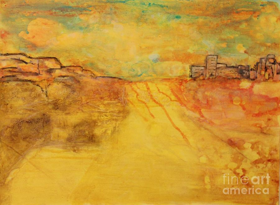 Abstract Painting - Catharsis by Michelle Davidson