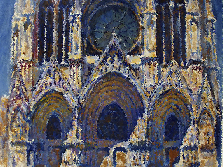 Sea Painting - Cathedral 1 by Valeriy Mavlo