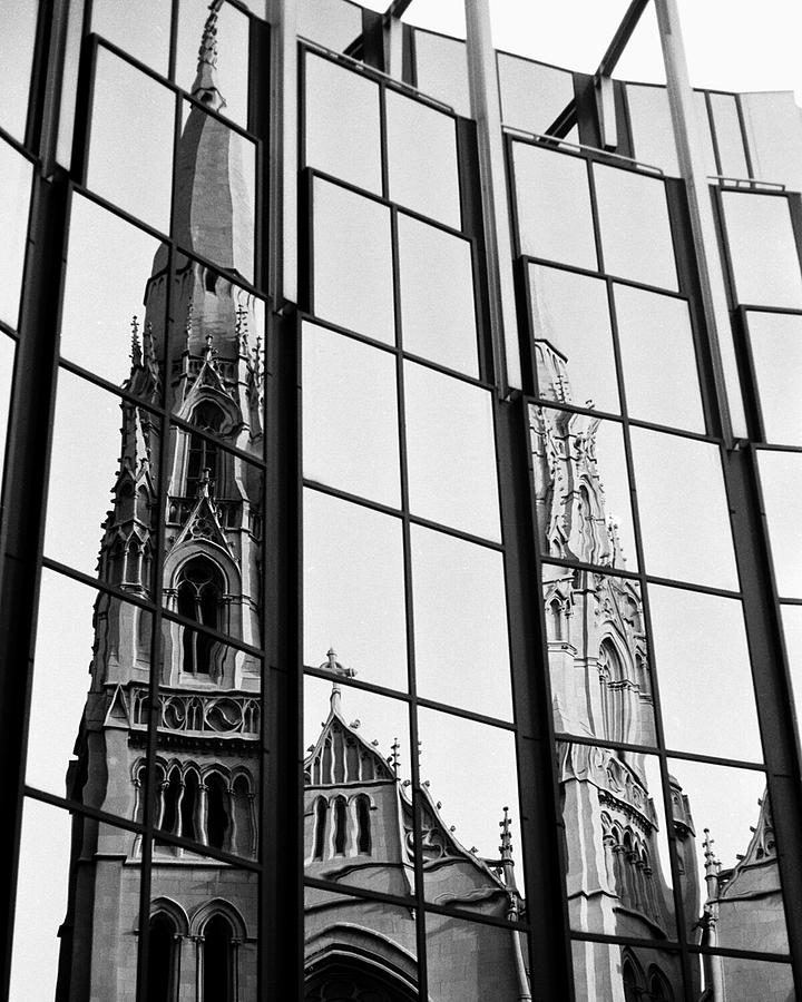 Cathedral Photograph - Cathedral by Brendon Bradley