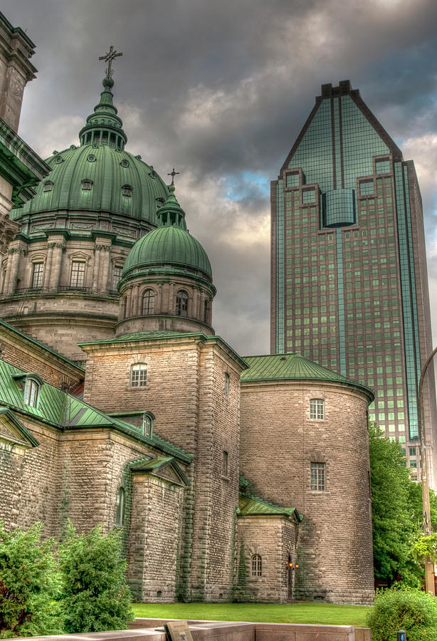 Montreal Photograph - Cathedral by Elisabeth Van Eyken