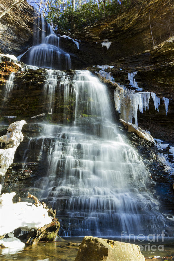 Waterfall Photograph - Cathedral Falls by Melissa Petrey
