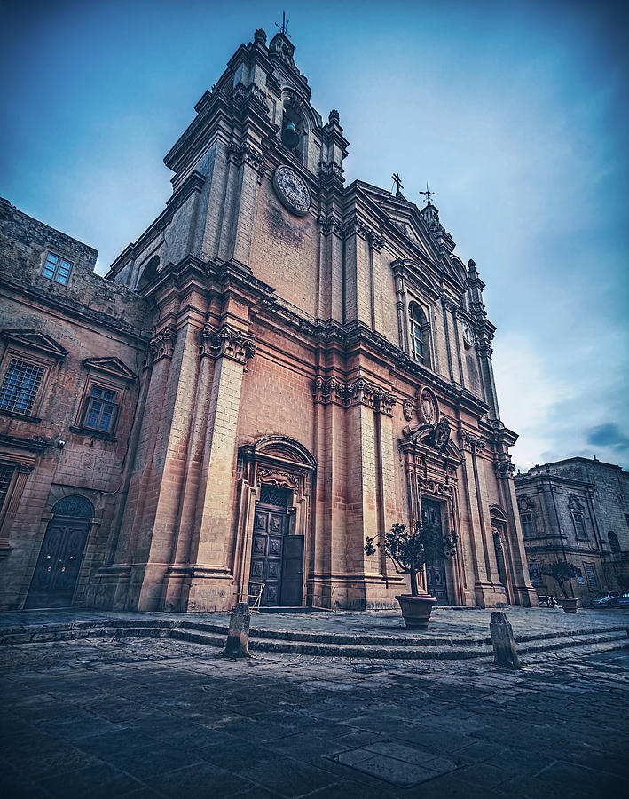 Cathedral Mdina by Nisah Cheatham