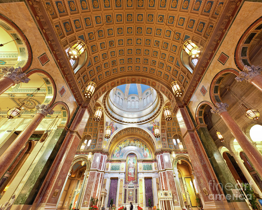 Religion Photograph - Cathedral Of St. Matthew Viii by Irene Abdou