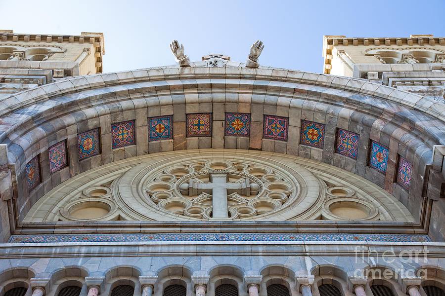 Religion Photograph - Cathedral Of St Vincent De Paul Iv by Irene Abdou