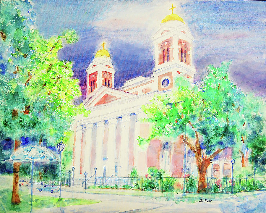 Cathedral of the Immaculate Conception by Jerry Fair