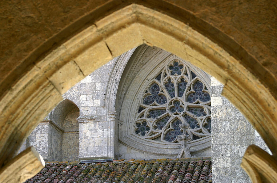 La Romieu Photograph - Cathedral On The Saint James Path  by Dagmar Batyahav