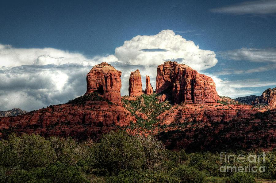 Arizona Photograph - Cathedral Rock - Sedona  by Saija  Lehtonen